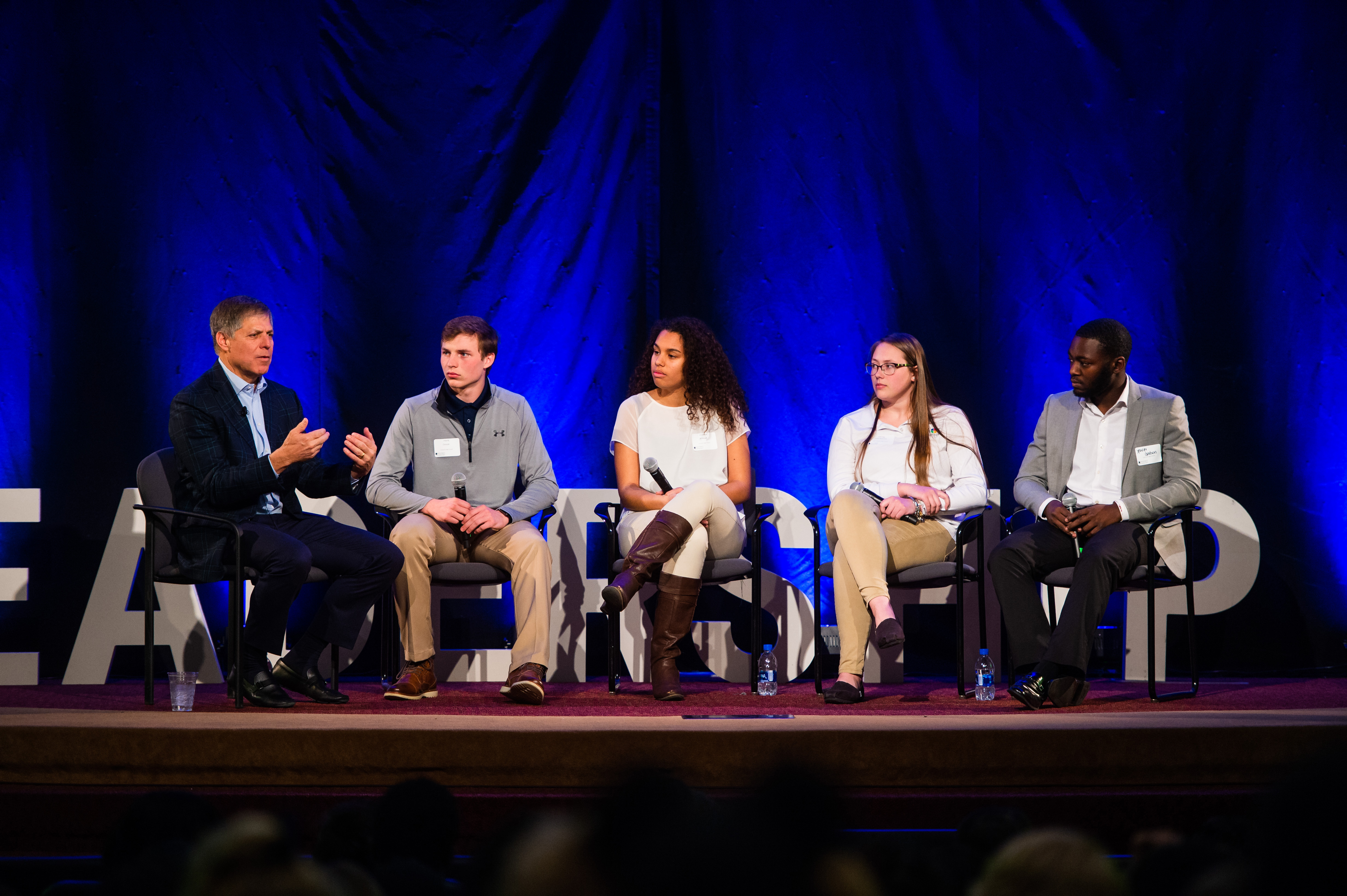 Lerner alumnus teaches leadership to Delaware youth